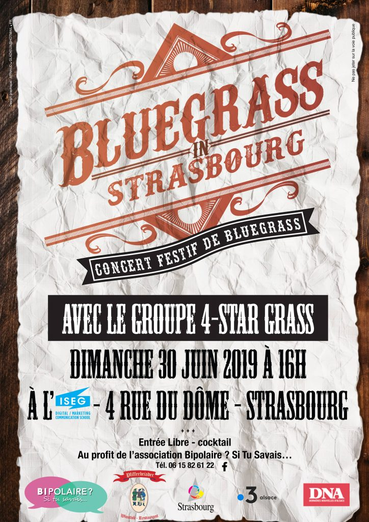 Affiche - Bluegrass in Strasbourg
